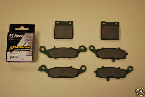 Full Set Armstrong GG Brake Pads For Suzuki SV650 GSX600 GSX750
