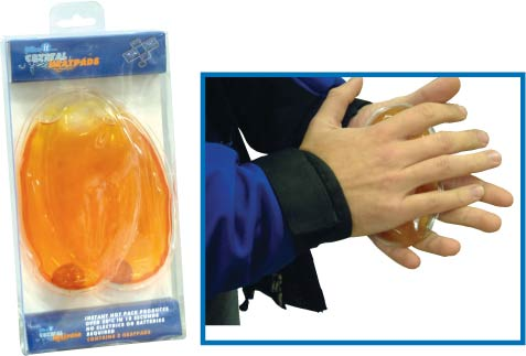 Pack of 2 Re-Useable Crystal Heat Pads - Hand Warners