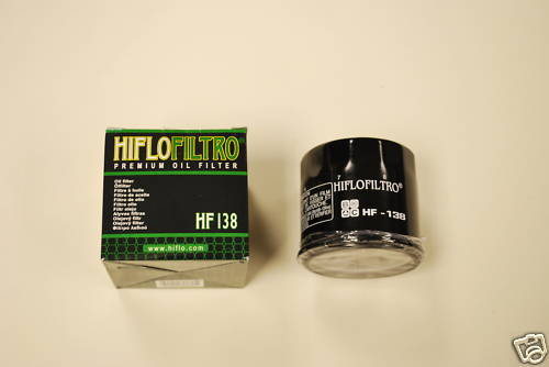 Hiflo Oil Filter Bandit GSXR SV650 GSXR RF TL - HF138 