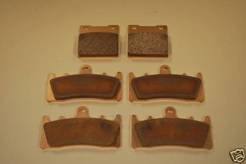 Full Set Sintered Brake Pads for Suzuki GSF1200 GSXR TL