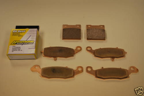 Full Set Sintered Brake Pads for Suzuki GSF600 SV650 GSX600 GSX750