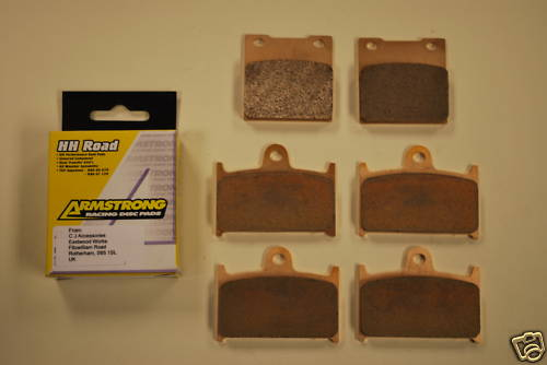 Full Set Sintered Brake Pads for Suzuki GSF1200 >00 GSXR RF900