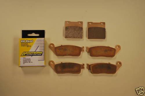Full Set Sintered Brake Pads for Suzuki GSF600 Bandit >99