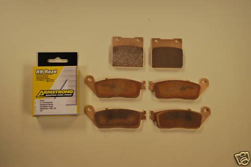 Full Set Sintered Brake Pads for Suzuki GSF600 Bandit >99