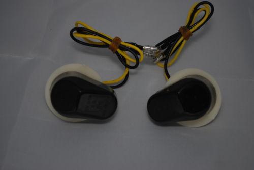 Black Lens LED Fairing Indicators - Fazer R1 R6
