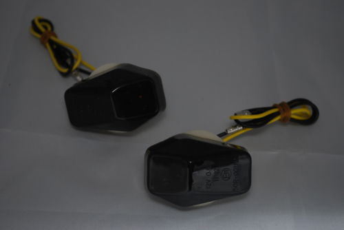 Black Lens LED Fairing Indicators - Suzuki Bandit GSXR SV