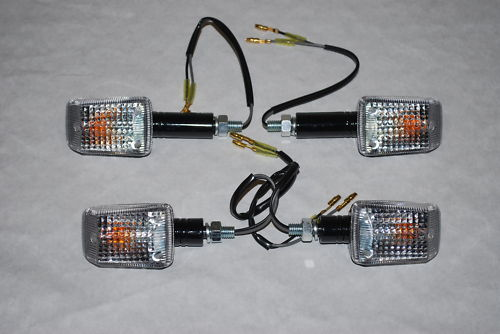Universal Mini Indicators, Amber Clear or Smoked Lenses