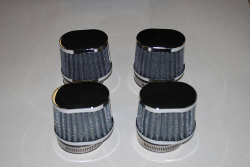 High Performance Off Set Air Filters 48mm