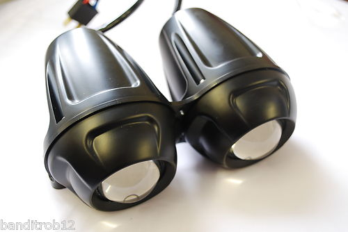 Twin Motorcycle Projector Dominator Headlight