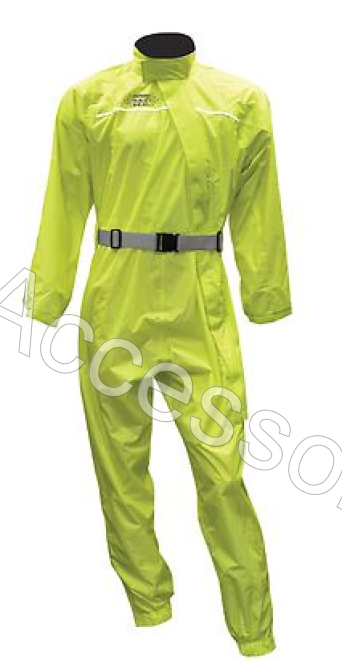 Oxford Rainseal All Weather Fluorescent Fluro Motorcycle Oversuit Waterproof