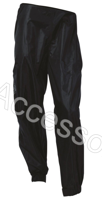 Oxford Rainseal All Weather Black Motorcycle Over Trousers Waterproof