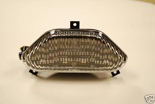 Clear Lens LED Rear Lights with Integral Indicators for Mk I GSF600 GSF1200 Bandit