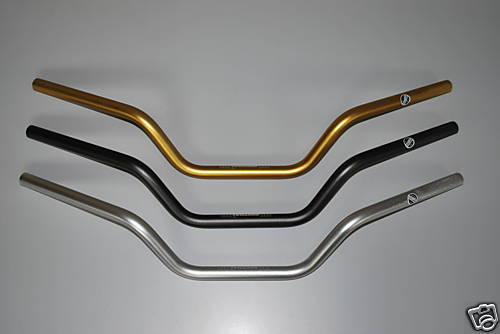 High Renthal Road Motorcycle Handlebars 7/8""