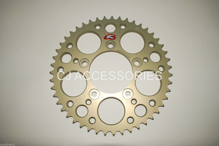 Renthal Ultralite Hard Anodised 47 Tooth Rear Sprocket GSF600 & GSF650