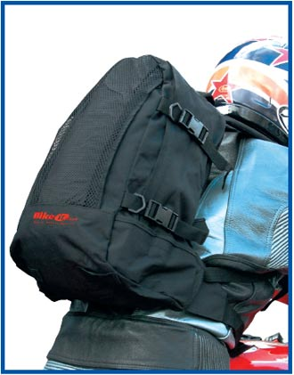 Black Heavy Duty Nylon Rucksack