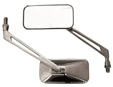 High Quality Chrome Runner Rectangular Mirrors
