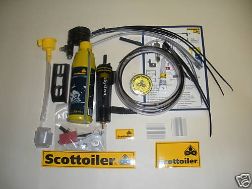 Universal V System Scottoiler Chain Lube System