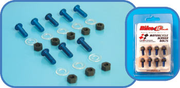 Universal Anodised Screen Bolts
