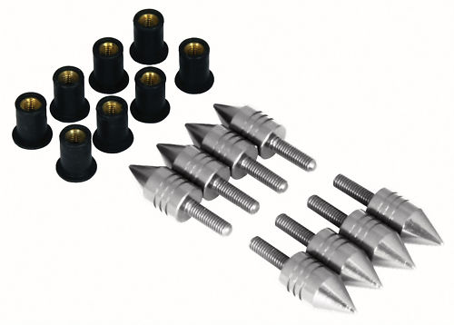 Pack of 8 Spike Fairing Bolts (CLON)