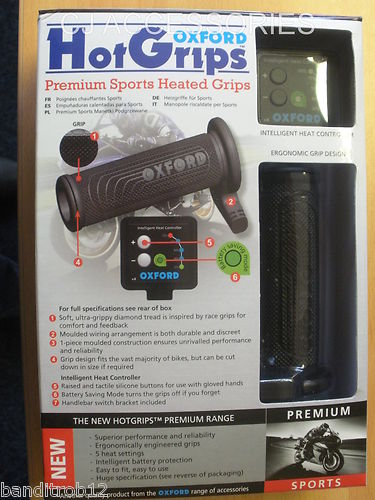 Oxford Hot Grips - Premium Sports Heated Hotgrips *NEW 2012 IMPROVED VERSION*