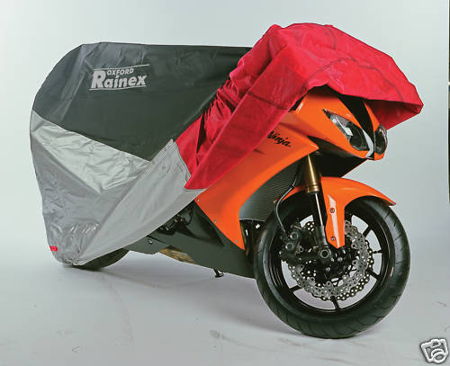 Oxford Rainex Deluxe Rain & Dust Bike Cover - 2 Sizes Available