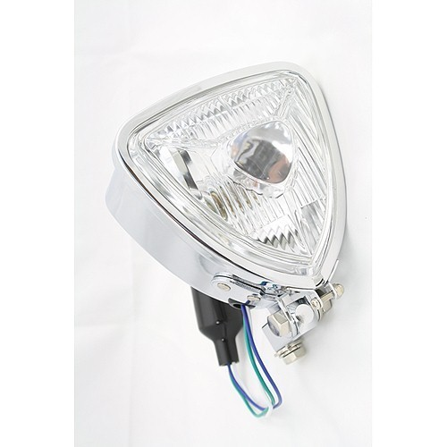 Triangle Motorcycle Headlight
