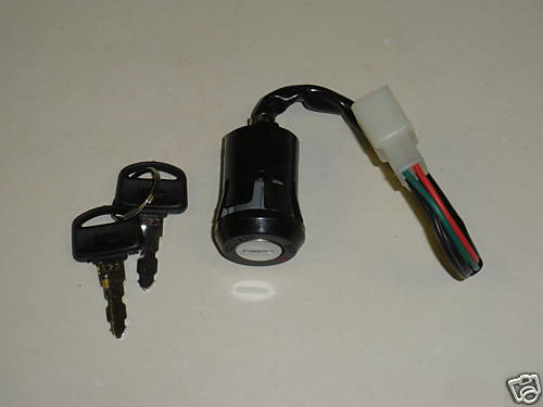 ISH020 Honda C90 CUB Ignition Barrel 83-94 Ignition Switch with 4 Wires 