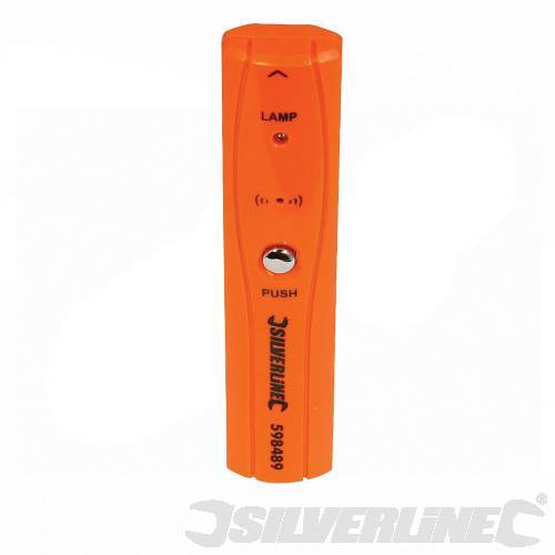 Silverline Pocket Sized Live Wire Detector with LED & Audible Detection