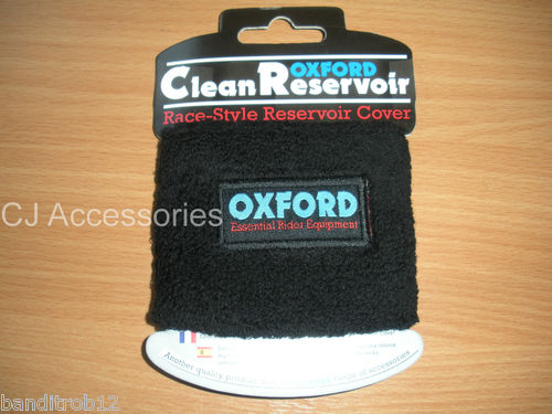 Oxford Motorcycle Brake Reservoir Cover - Clean Reservoir