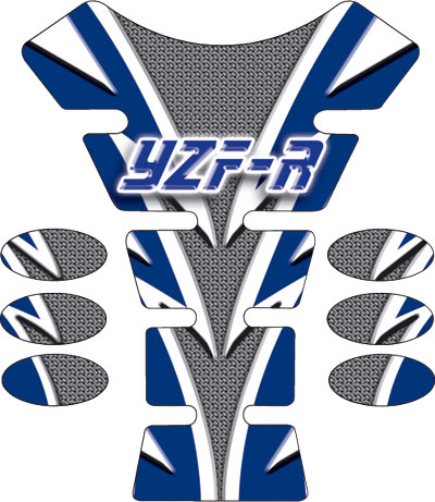 Carbon Flash YZF-R Spine Tank Pad